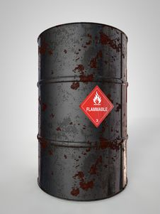 Free Oil-Barrels Royalty Free Stock Photo - 30881345