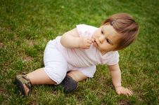 Free Baby Girl Stock Photo - 30882720
