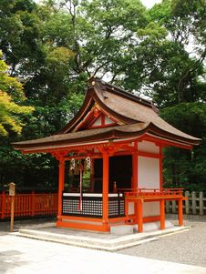 Small Building In Temple In Japan Stock Photo