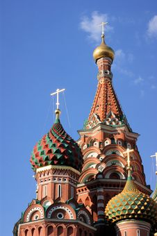 Free St. Basil S Cathedral Royalty Free Stock Photo - 30885175