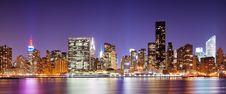 Manhattan Skyline Stock Photos