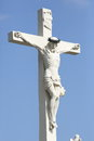 Free Sculpture Of Crossed Christ Stock Photos - 30890163