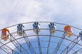 Free Part Of Ferris Wheel With Sky Royalty Free Stock Image - 30891366