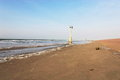 Free Buoy And Lighthouse In Distance Royalty Free Stock Photo - 30894175