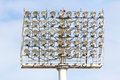 Free Stadium Spot-light Tower Stock Photo - 30897760