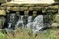 Free Pleasant Waterfall. Royalty Free Stock Image - 30898856