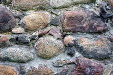 Free Old Stone Wall. Royalty Free Stock Photos - 30890378