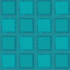 Free Grunge Abstract Seamless Pattern. Turquoise Squares Royalty Free Stock Image - 30890466