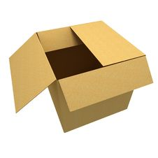 Free Empty Box Royalty Free Stock Image - 30890636