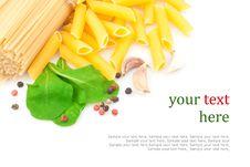 Free Spaghetti & Spices Stock Photo - 30891430