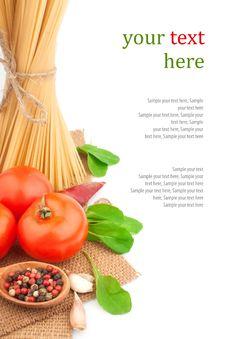 Free Italian Pasta Royalty Free Stock Photo - 30891465