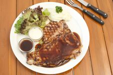 Free T-bone Steak Stock Photo - 30891730