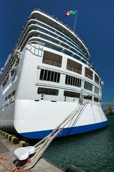 Free Passenger Ship Stern Royalty Free Stock Photo - 30892465