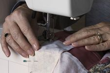 Free Hand Sewing Royalty Free Stock Images - 30894769