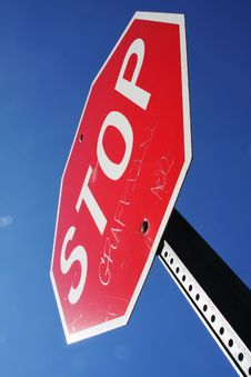Free Stop Sign Royalty Free Stock Photos - 30894888