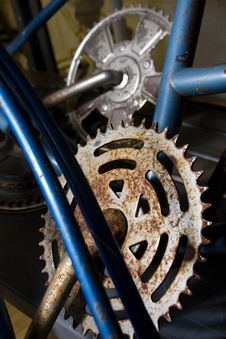 Free Rusted Old Gears Stock Image - 30895291
