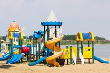 Free Modern Children Playground Stock Images - 30897554