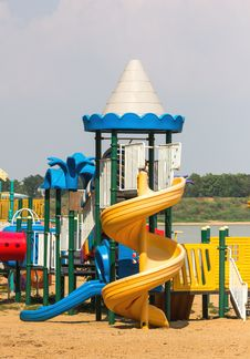 Free Modern Children Playground Stock Photos - 30897563
