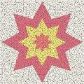Free Big Mosaic Star Royalty Free Stock Photography - 3091097
