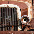 Free Headlight On A Vintage Car Stock Photography - 3098442