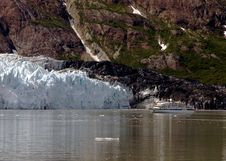 Glacier In Alaska Royalty Free Stock Photography
