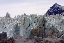 Alaskan Glacier Royalty Free Stock Photo