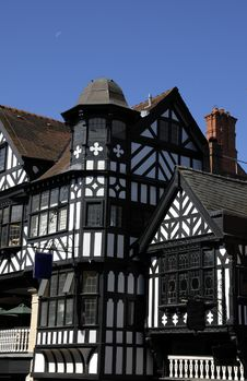 Free Tudor Black And White Building Stock Photography - 3091342