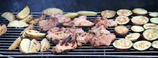 Free Food Grilled On BBQ Grill Royalty Free Stock Images - 3091409