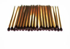 Free Matchstick Stack Royalty Free Stock Photography - 3091597