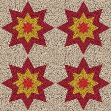 Free Background Tile Stars Mosaic Royalty Free Stock Photography - 3091907