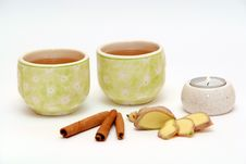 Free Tea Composition Royalty Free Stock Photos - 3092328