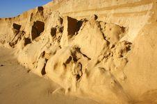 Sand Dune Sliding Royalty Free Stock Photo