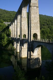 Free French Ancient Bridge Stock Photography - 3092672
