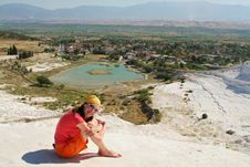 Pamukkale Terrace Stock Photography