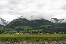 Free Small Village In Austria View Stock Photography - 3095732
