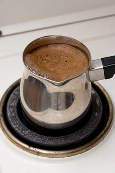 Free Preparing Coffee Royalty Free Stock Image - 3097996
