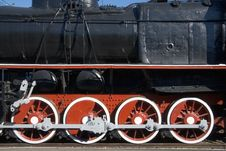 Free Old Locomotive Royalty Free Stock Photography - 3098217