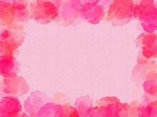 Free Roses Frame Royalty Free Stock Photos - 3099618