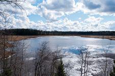 Free Late Spring At Lake Royalty Free Stock Photo - 30902445