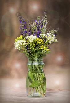 Free Bouquet Of Spring Flowers Stock Image - 30903451