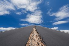 Free Cracked Road Stock Images - 30905484