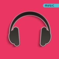 Free Headphones Royalty Free Stock Photo - 30905695