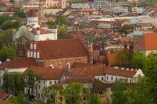 Free Lithuania. Vilnius Old Town In The Spring Stock Photography - 30912452