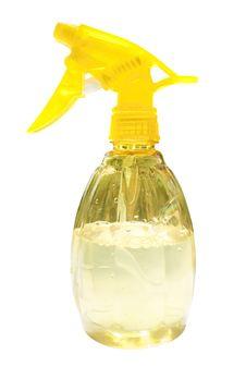 Free Plastic Spray Bottle Royalty Free Stock Photography - 30919287