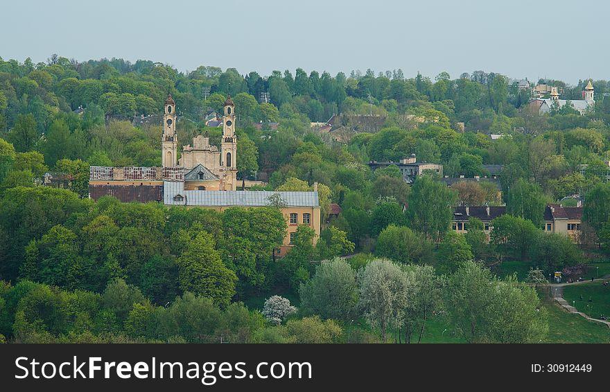 Lithuania. Vilnius. Church of Ascention
