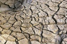 Free Dry And Barren Land Royalty Free Stock Photography - 30925887