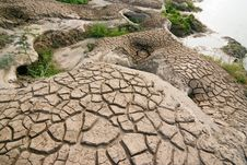 Dry And Barren Land Royalty Free Stock Photo