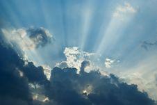 Free Sunbeams Stock Photography - 30926212