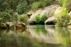 Free Waterfall El Nicho Stock Photography - 30929942