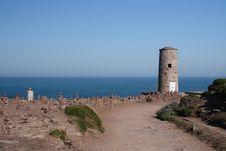 Free Cap Frehel Lighthouse Royalty Free Stock Photo - 30929985